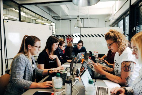 developher Veranstaltung women in tech