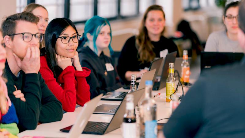 DevelopHER Veranstaltung in Hamburg im Januar 2020a